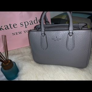 Kate Spade Leighton Satchel Crossbody Hand Bag